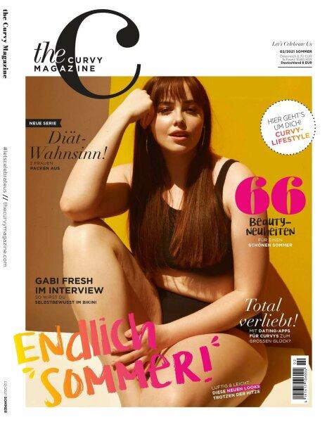 the curvy Magazine Ausgabe 2-2021 Sommer Printausgabe