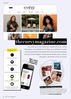 the curvy Magazine Ausgabe 3-2021 Herbst Printausgabe oder E-Paper